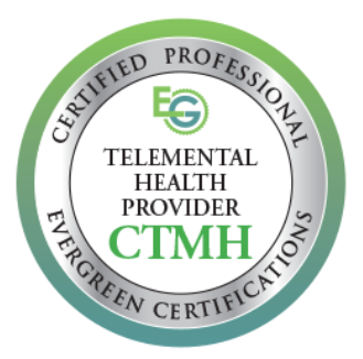 Telemental Health Certified Provider seal