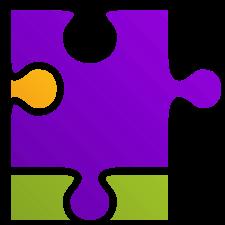 purple puzzel piece